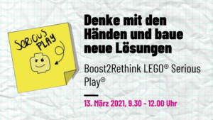 Lego Serious Play - Boost2Rethink