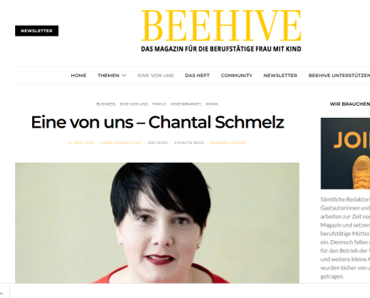 One of us - Chantal Schmelz / BeeHive Magazine