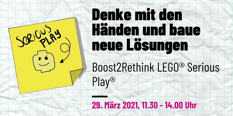LEGO SERIOUS PLAY Workshop by Boost2Rethink